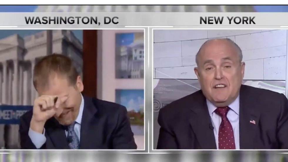 WATCH: Chuck Todd confronts Giuliani after he says 'truth isn't truth' https://t.co/anR15UBen1