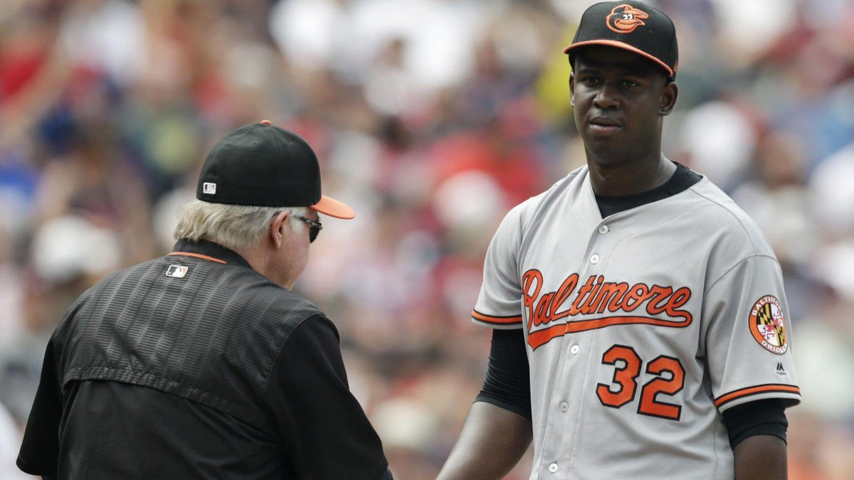Yefry Ramírez struggles early, Orioles shut out for 11th time this season in 8-0 loss to Indians https://t.co/z9JZVRMAPp