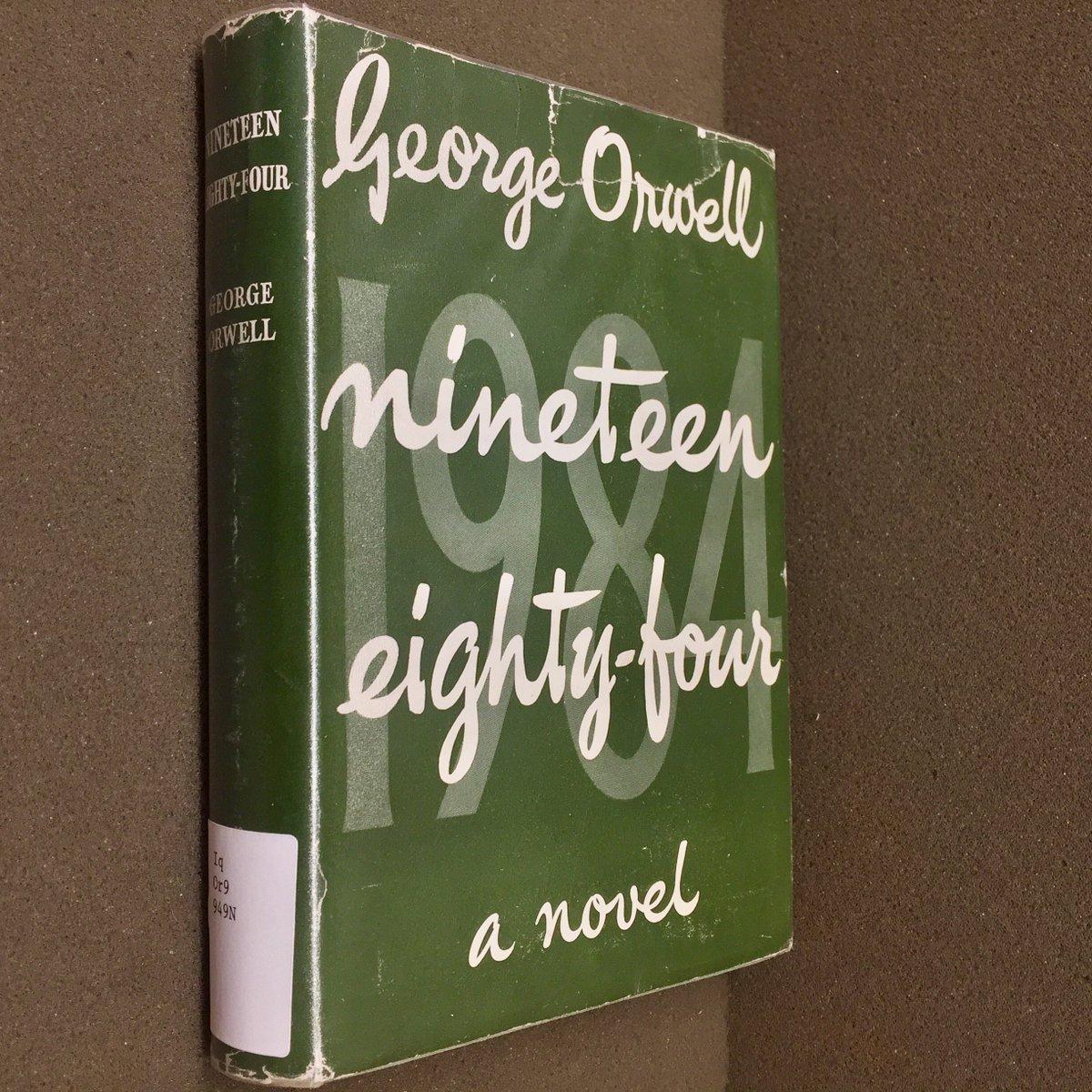 George Orwell: Nineteen eighty-four, a novel. bit.ly/2tsJZYW