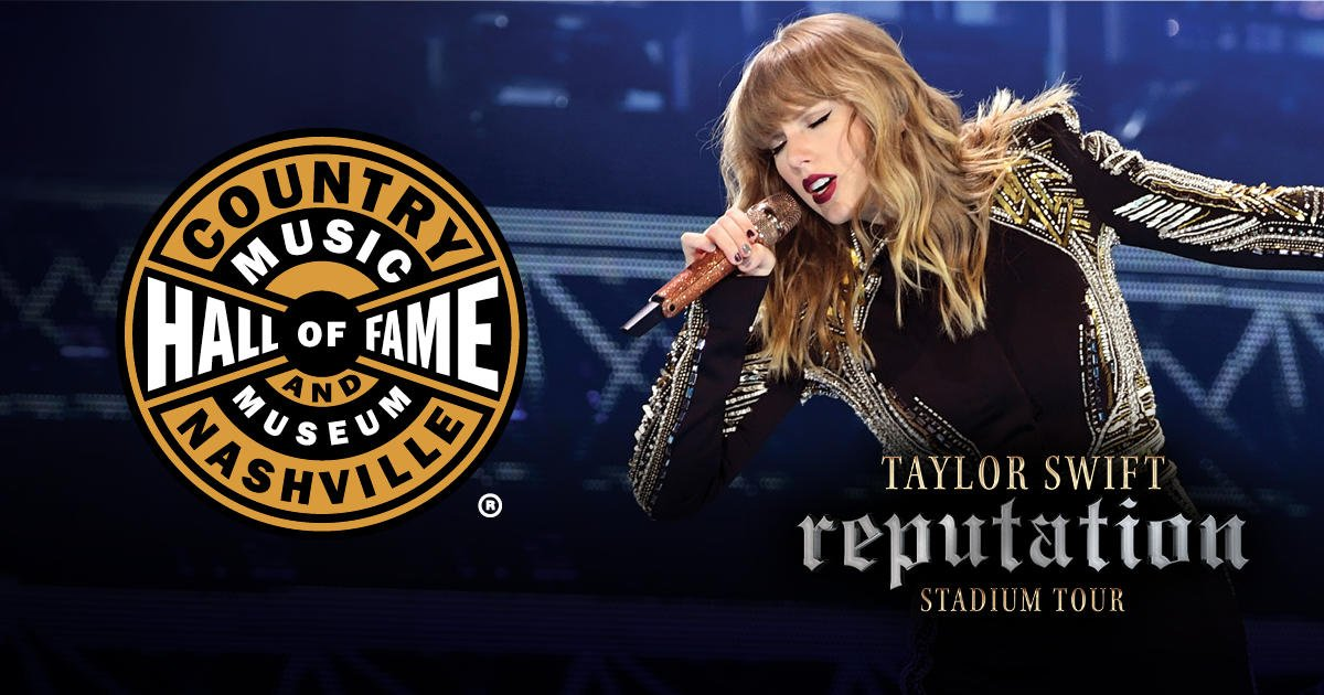 Ready for it, @TaylorSwift13 fans? Come to the Museum this week for all things Taylor including reputation artifacts on loan from Taylor herself, a photobooth for all your gorgeous faces, giveaways, and more. Visit countrymusichalloffame.org/contentpages/t… for details! #TSwiftEdu #repTourNashville