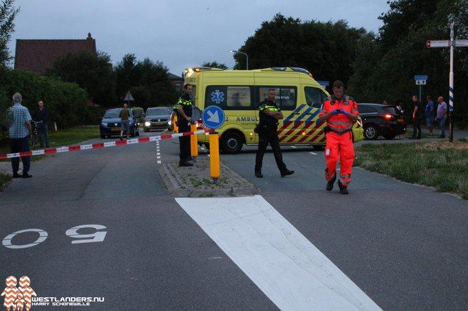 Ernstig ongeluk aan de Nieuwlandsedijk https://t.co/IkEk8TVO1V https://t.co/nKMWt8Z4OM