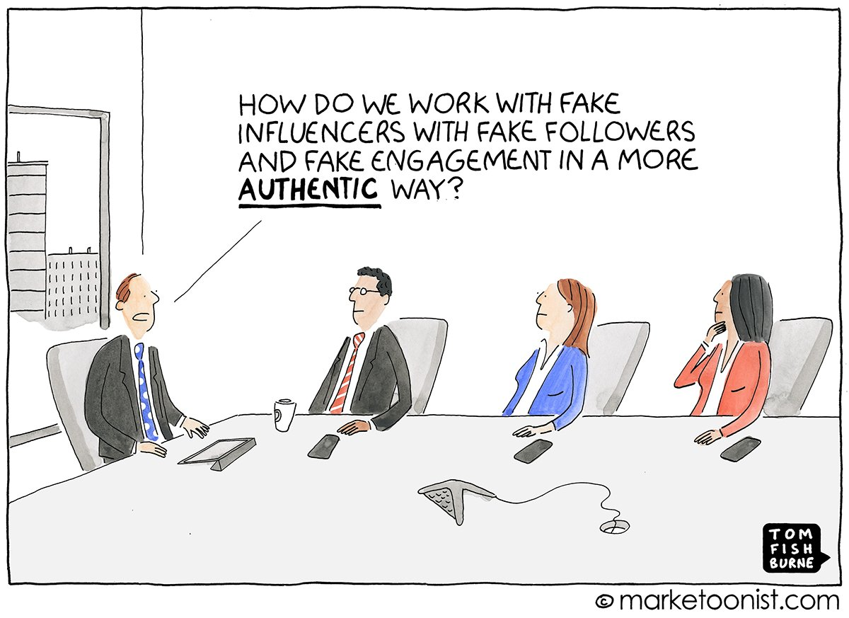 """Tom Fishburne on Twitter: """"""""Fake Influence and ..."""