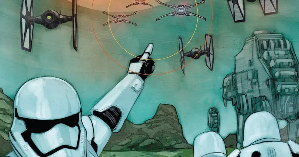 Marvel's Poe Dameron Comics Just Revealed The First Order's Secret Weapon buff.ly/2OK7O6P