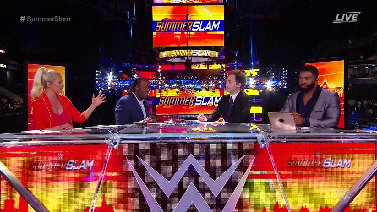 Image result for wwe summerslam kickoff panel