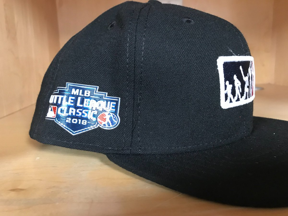 release date 48cdd 2af5c ... order the umpire crew will be sporting these hats mlb  littleleagueclassic swag busterespn phillies mets mlbua