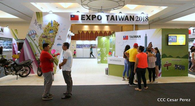 #AquiNicaraguaLibre Continúa la Expoferia Taiwán 2018, en la capital, donde participan más de 30 expositores de ambas naciones. #NicaraguaQuierePaz Photo