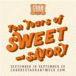 The list of participating restaurants for #CobbRW2018 is LIVE! Which restaurants are you excited to try? https://t.co/1YquTcripG
