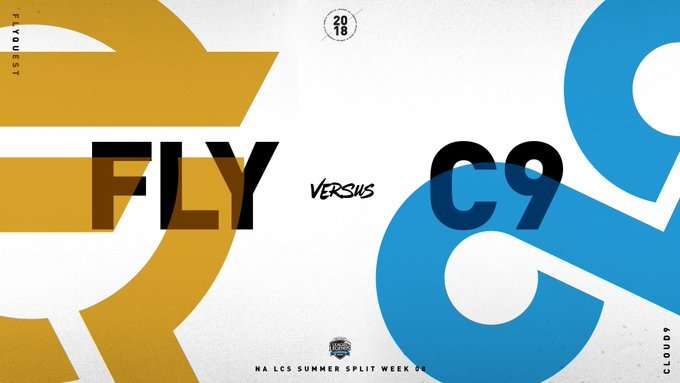 Up Next: @FlyQuestSports vs @Cloud9 #NALCS 📺 Foto
