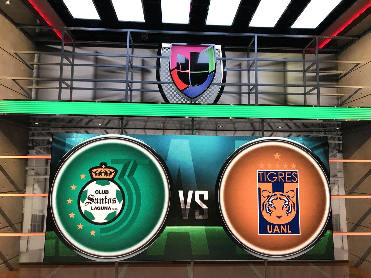 Los esperamos desde ahora en #FutbolCentral con la previa del @ClubSantos vs @TigresOficial para cerrar la J5 del Apertura 2019 de la #LigaMx 🔛⚽️ 🎙@LINDSAYDEPORTES 🇻🇪 🎙@DiegoBalado 🇦🇷 🎙@LuisOmarTapia 🇨🇱 🎙@XaviSol_ 🇲🇽 🖥📲 @UnivisionSports