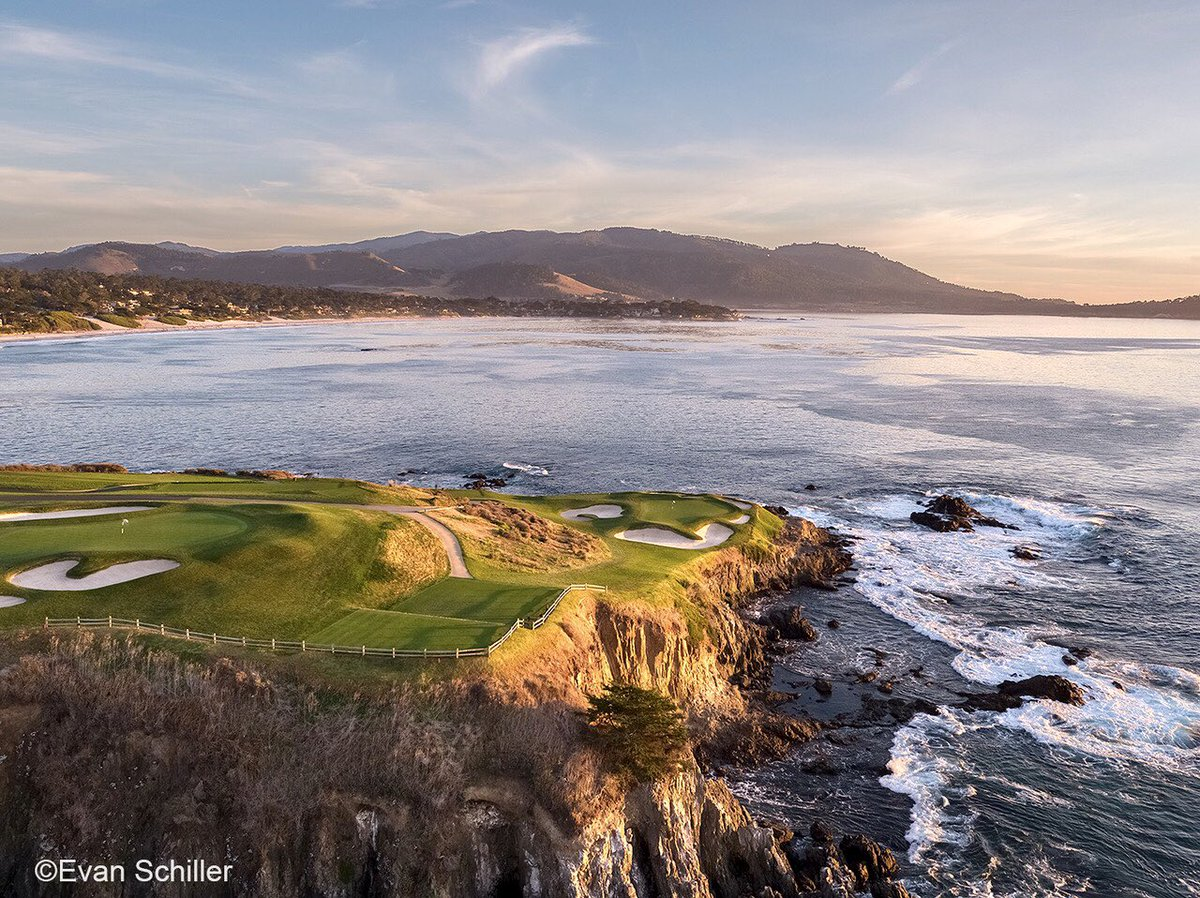 Watching the #USAmateurFinal and really appreciating the beauty of @PebbleBeachGolf such an extraordinary place. Looking forward to being back in a few months. #USOpen here in 2019. #PebbleBeachGolfLinks