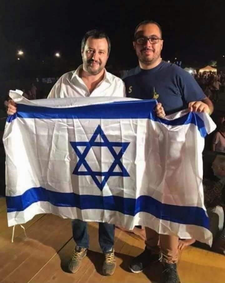 Nel mondo non si muove foglia che il #sionismo non voglia#Salvini, l\