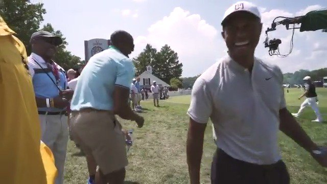 .@warriors @andre gives you a behind-the-scenes look at the 2018 #PGAChamp⁠   (via @PGA) #DreDays https://t.co/UQDlRyKaD1