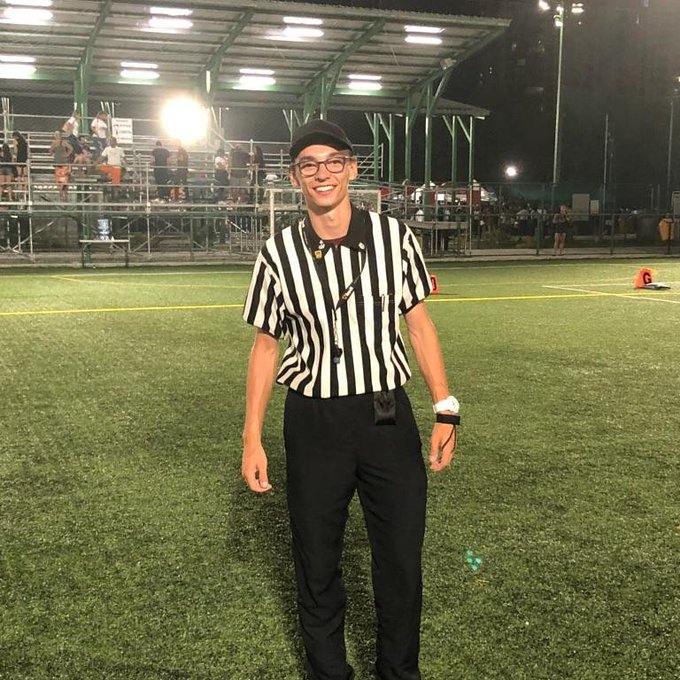 Looks like we have Canadian athletes and Officials representing our country in Panama for the World Flag Championship! Shout out to Scott Woloshin- one of two Canadian Refs gone international. 🇨🇦🏈#2018FFWC Photo