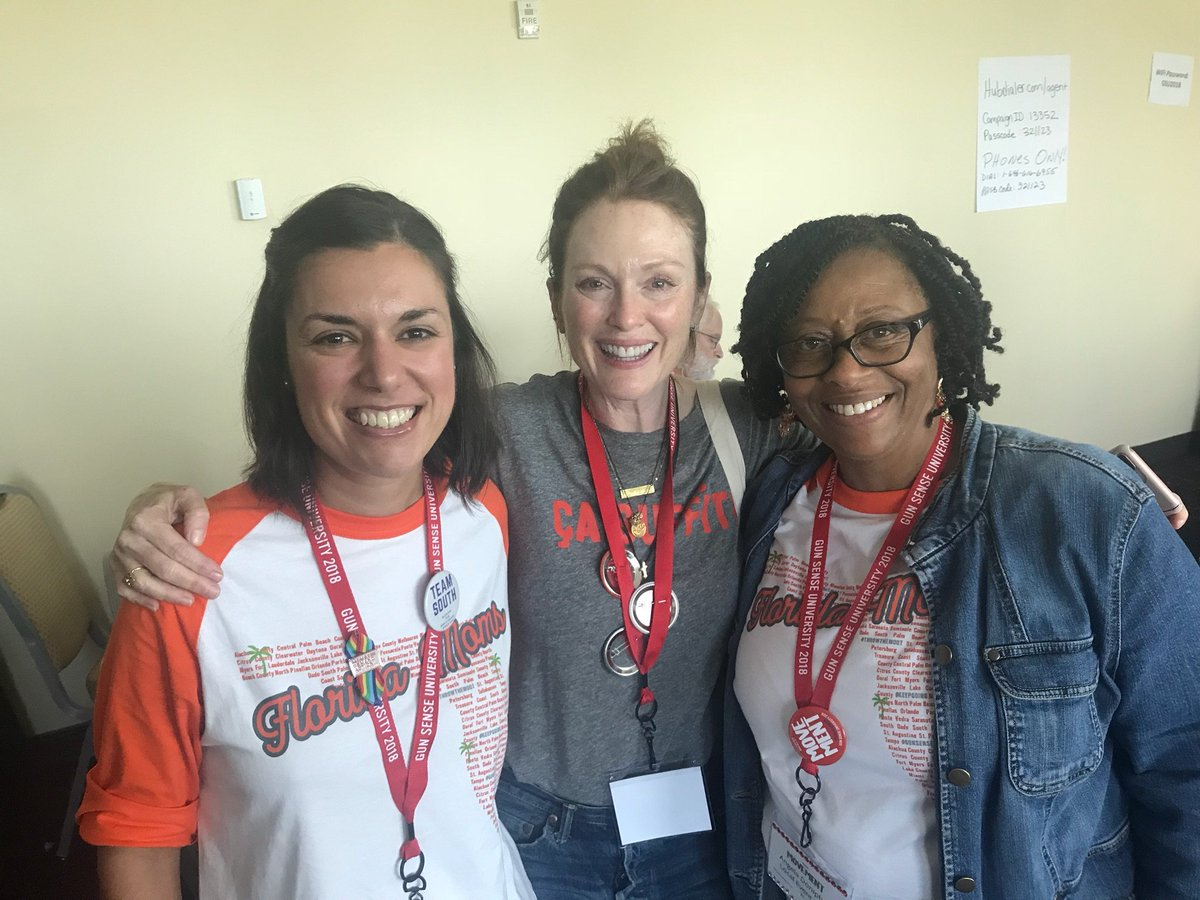 And thank you to our mothership, @Everytown, and to @_juliannemoore, @staceyabrams, @LucyWins2018, @JohnFeinblatt and @MikeBloomberg for supporting such an amazing and impactful weekend. #GSU18 <br>http://pic.twitter.com/IJ3khDt5TM
