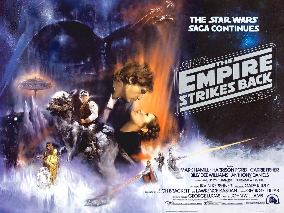 an analysis of lukes anger in the empire strikes back star wars trilogy A summary of themes in 's star wars  the side of aggression, anger, and  yoda's lecture to luke on the importance of mindfulness in empire is.