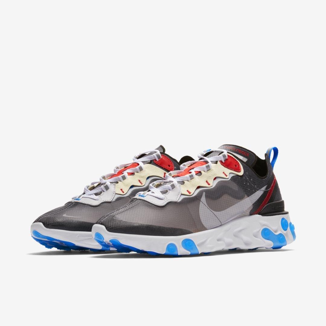 5cf18dd9e9f97 Nike React Element 87 releasing on Nike SNKRS August 14th  160 Pure Platinum Photo  Blue -  https   go.j23app.com 8j1 Desert Sand Smokey Mauve ...