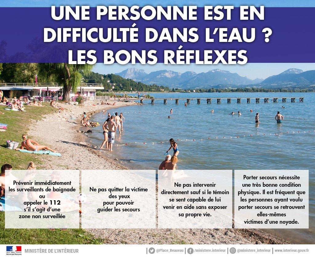 ⚠️💦 Comment réagir si vous êtes témoin d'une #noyade ? Et si vous-même étiez en difficulté dans l'eau, que feriez-vous ? ⬇️ + de 1 000 noyades ont été recensées depuis juin et + de 250 ont abouti au décès de la personne. Vigilance absolue ! #etesanssouci