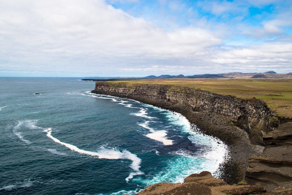Krysuvikurberg Cliffs, Reykjanes Peninsula, Iceland - Twitter pic