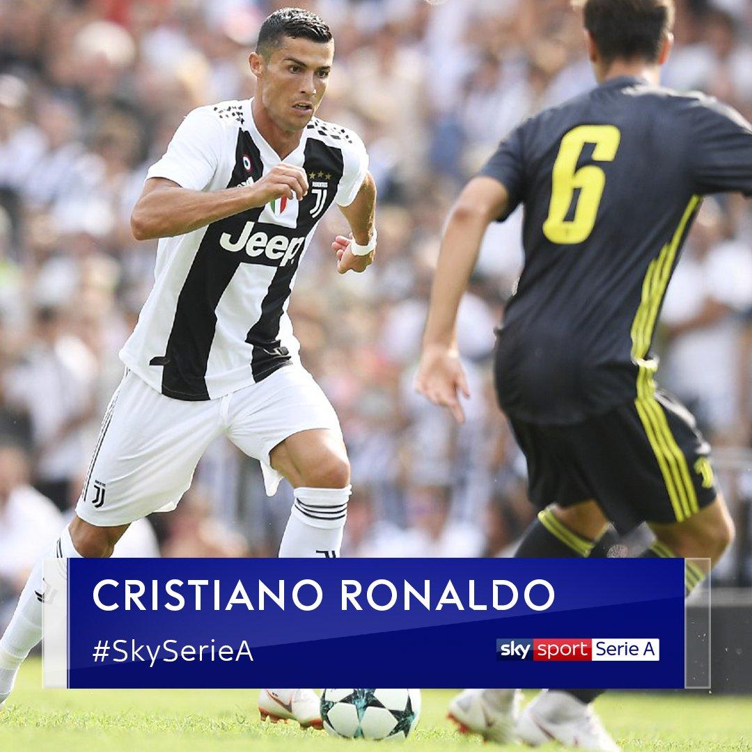 Amichevole  #JuveAJuveB #CristianoRonaldo (8') #SkySport Serie A (canale 202) http://bit.ly/JuveAJuveB_Live#SkySport  - Ukustom