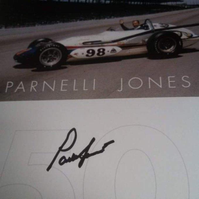 Happy birthday to the oldest living winner - Mr. Parnelli Jones.