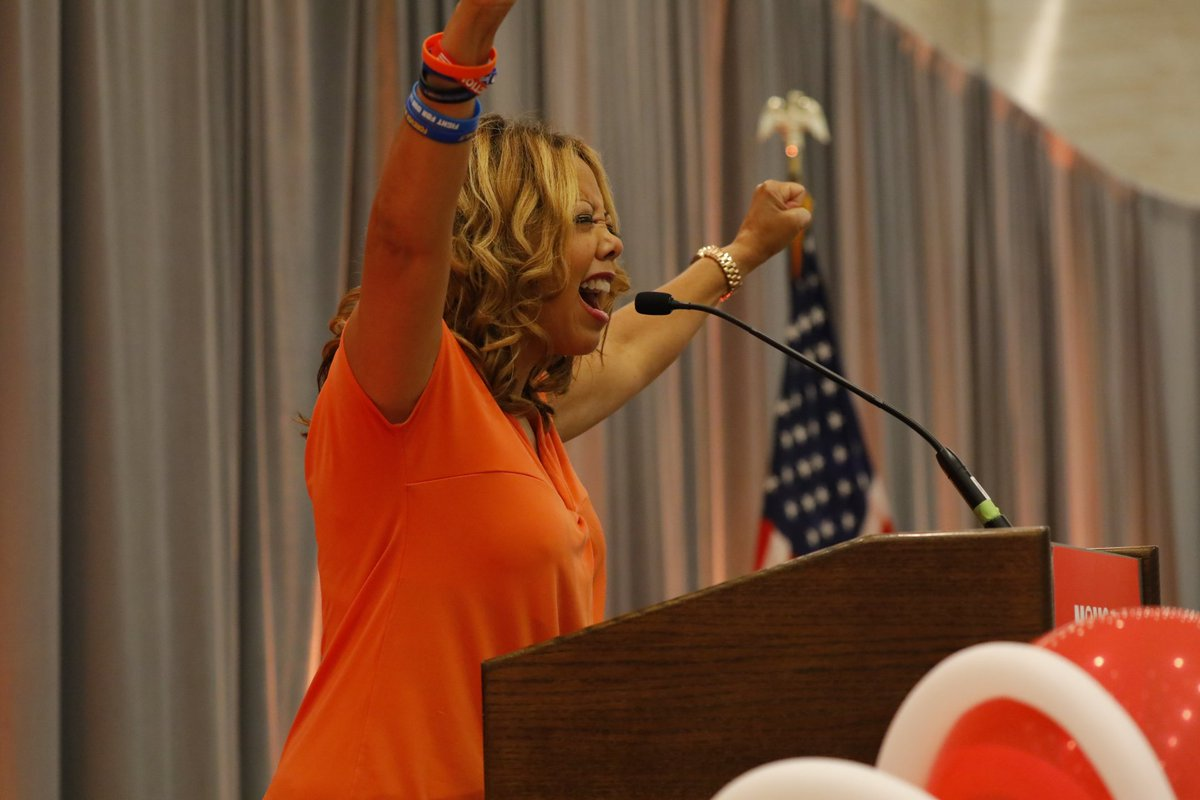 #GSU18 is a wrap! Thank you to the over 1,000 gun violence survivors and volunteers who not only attended this year, but helped pull off an amazing program.   This is not a moment, it&#39;s a movement. #KeepGoing<br>http://pic.twitter.com/C6z7ljiyWW