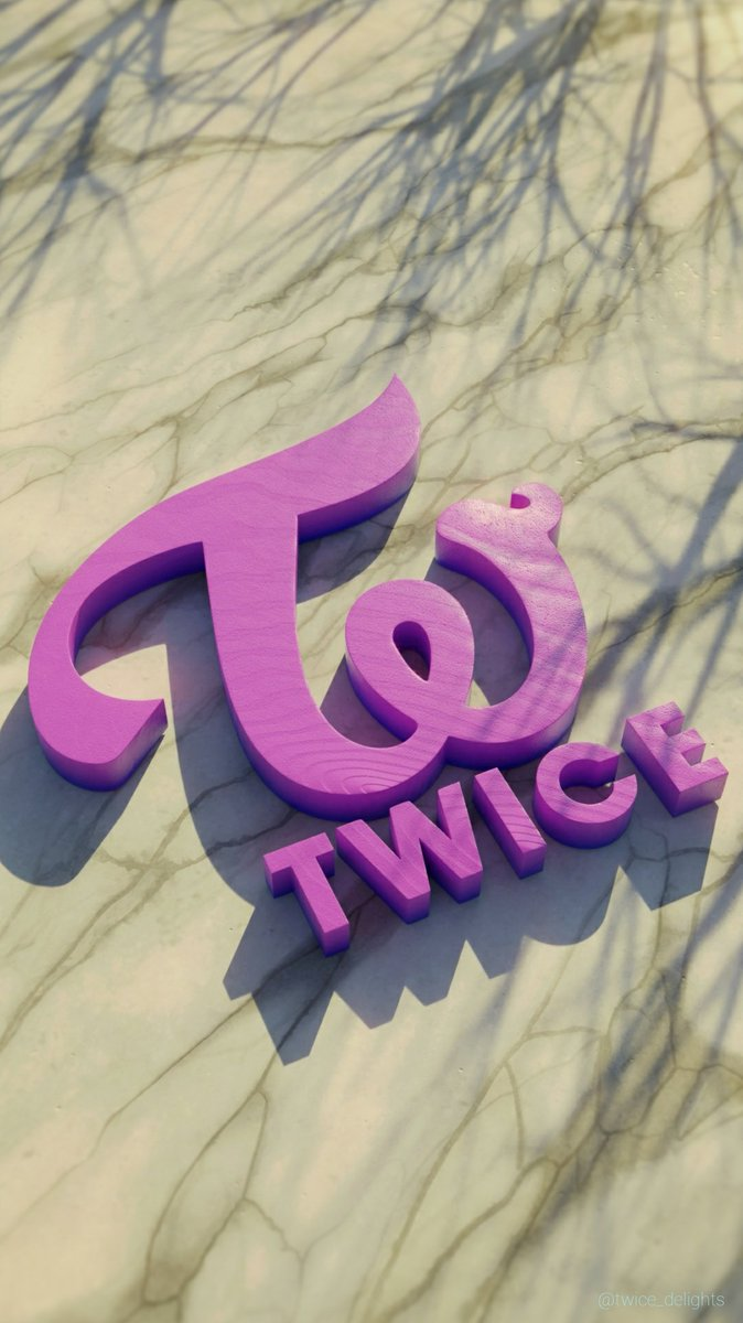 Twicedelights On Twitter Twice Logo 1080p Phone Wallpaper