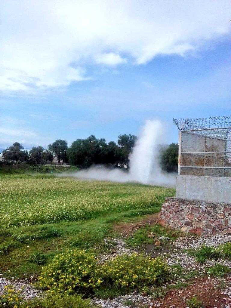 RT @alertasurbanas: Fuga de combustible en el municipio de Otumba por toma clandestina para el robo de combustible. https://t.co/kJCAN2rK1e