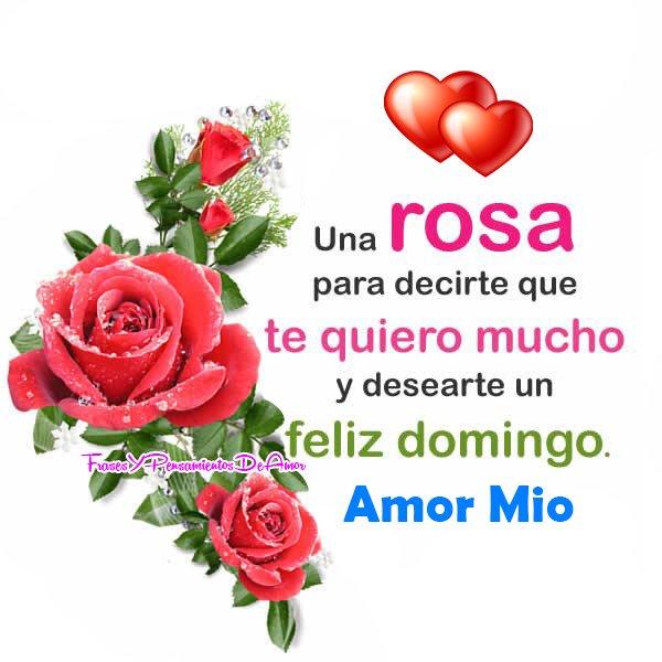 Pensamientos De Amor Feliz Domingo Www Imagenesmy Com