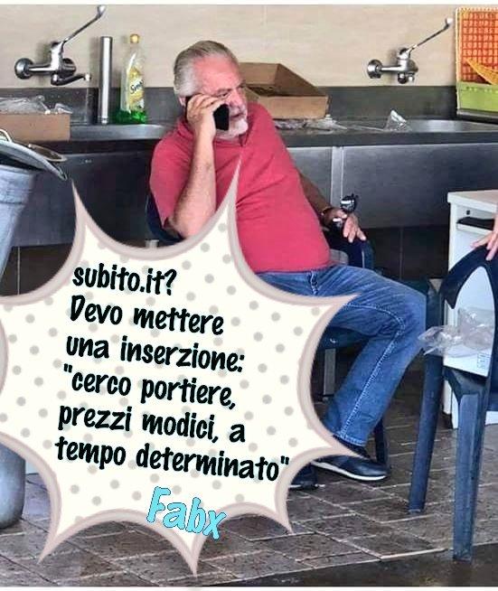 #Calciomercato #Napoli #DeLaurentiis cerca un portiere in prestito a prezzi modici e mette inserzione su http://subito.it #Ochoa #Trapp #Ancelotti #Napoli @Torrenapoli1 @pepromano @annatrieste @NapoliOutsider @sscnapoli @ADL  - Ukustom