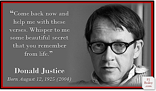 Remembering Donald Justice's birthday, I too am awaiting the return of voices whispering beautiful secrets from life. I #amwriting #poetry   More: #DonaldJustice - , #writing professor and award-winning American #poet – incl. #Pulitzer 1980 -   http://www. poetryfoundation.org/bio/donald-jus tice &nbsp; …   #quote<br>http://pic.twitter.com/Lc8xLG01GF
