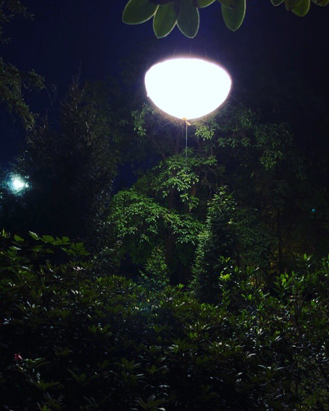 #balloonlighting in Northvancouver #tvseries @atomic2lighting #bcfilm #balloonlight