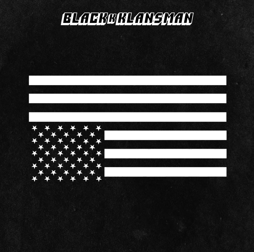 blackkklansman final america flag ile ilgili görsel sonucu