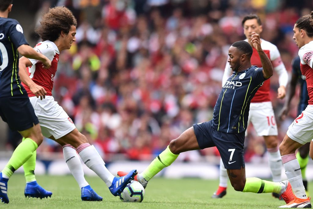 Arsenal 0-2 Manchester City: Player Ratings