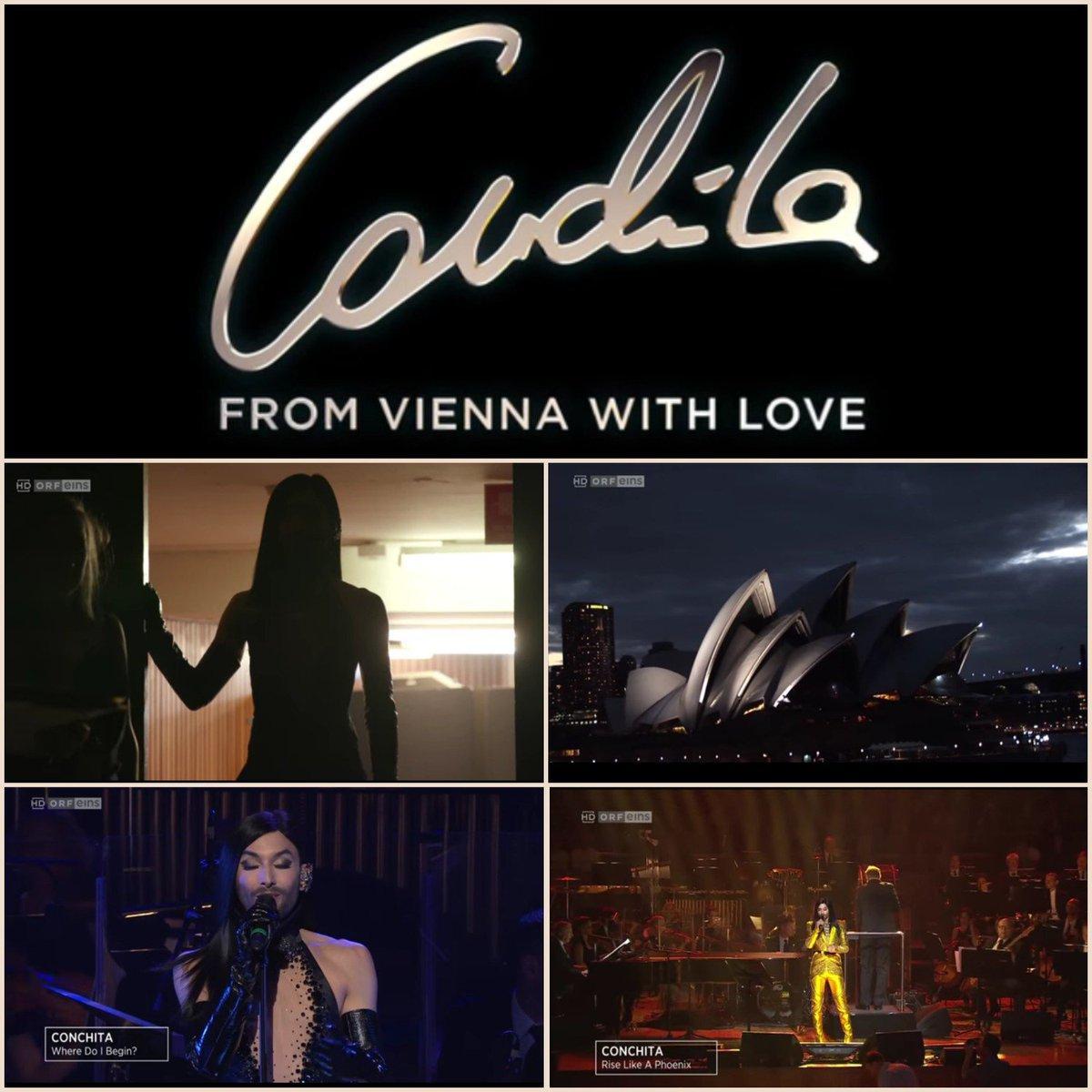 https:// m.youtube.com/watch?v=zX3u4I H8rMU&amp;feature=youtu.be &nbsp; …   Wonderful documentary - #ConchitaWurst - #FromViennaWithLove 3.3.2016 - Sydney Opera House  20.10.2018 #Conchita will sing with #ViennaSymphony at #WienerKonzerthaus I can&#39;t wait @ConchitaWurst All upcoming events  http:// conchitawurst.com/events/  &nbsp;  <br>http://pic.twitter.com/r6cqTld17N