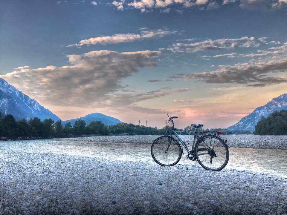 #Picoftheday: bellissima foto di Antonio Costa #Tagliamento #FVG #FVGlive #bike #FVGbike @FVGlive @provenzone @bikeitalia_it  - Ukustom