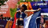 Actualité: Europe:Vidéo. La Française Clémence Calvin décroche la mé- #actu Photo