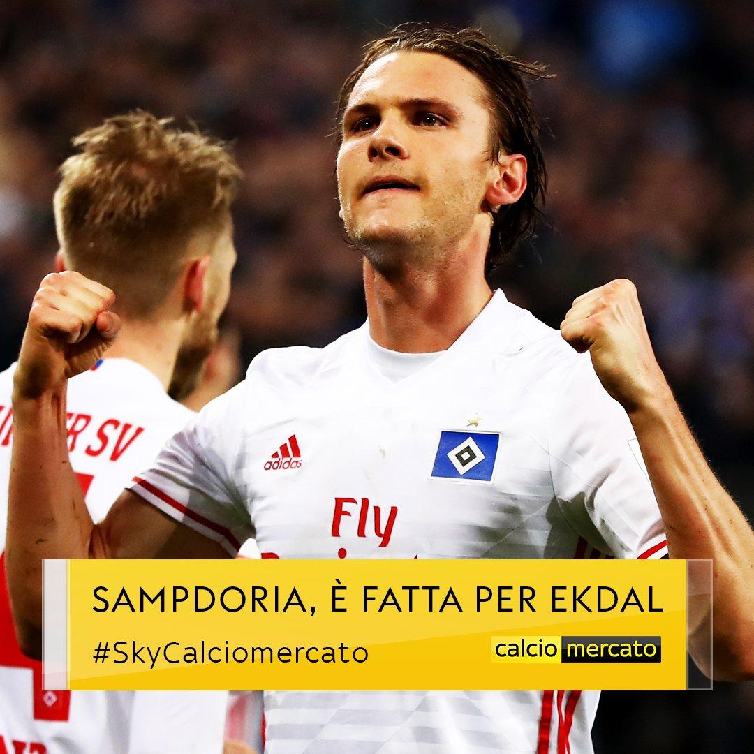 #UltimOra #Mercato #Sampdoria, è fatta per Albin #Ekdal dall'#Amburgo Operazione da 2,5 milioni più bonus Domani il giocatore sosterrà le visite mediche#SkyCalciomercato  - Ukustom