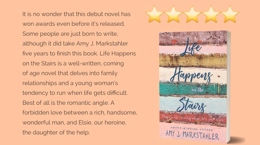 So excited for September 1st!! Another 5  #review Preorder today! Life Happens on the Stairs is a #ya #mustread   http:// getbook.at/LHOTS  &nbsp;   #BookLoversDay #BookBoost #bookworms #amreading #youngadult #99cents #ELEV8TINDIES #ASMSG<br>http://pic.twitter.com/8BeaQ3iX4k