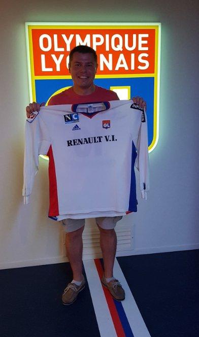 Merci à WERNER et à sa famille venus de Normandie au Groupama Stadium aujourd\