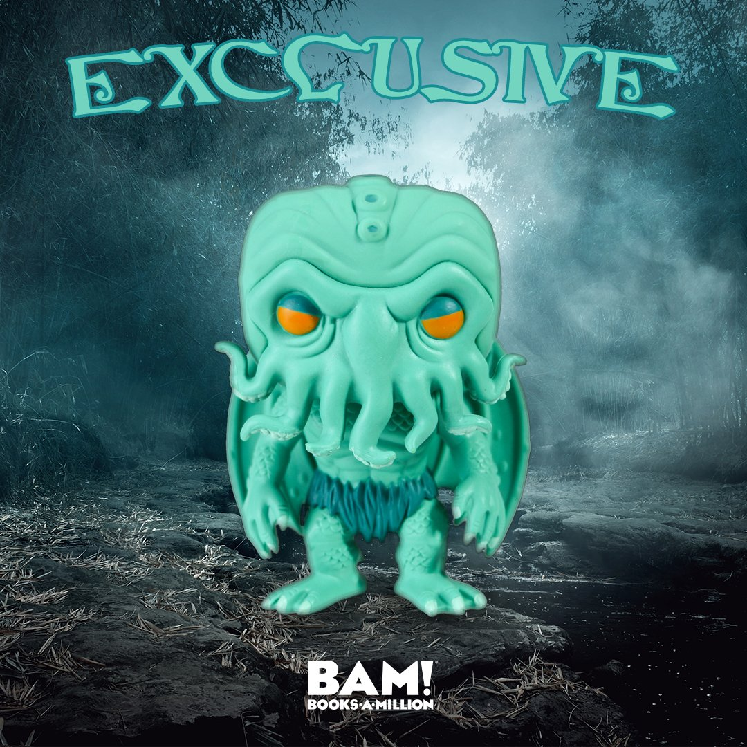 In his house at Rlyeh, Cthulhu waits no longer! #Preorder this #exclusive variant now at #BooksAMillion, he commands it! bit.ly/2JN2IE1