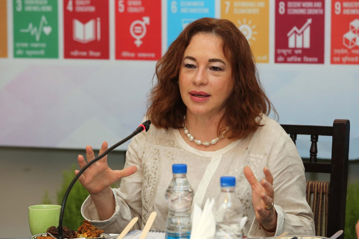 #DelhiProcess4 Inaugural Address by H.E. Ms. Maria Fernanda Espinosa Garces,@mfespinosaEC President Elect of the 73rd Session of the UN General Assembly, tomorrow morning #ssc #TDC @UNinIndia @UNOSSC @UN @FIDC_NewDelhi @NeST_SSC @Sachin_Chat @sinha_pranay