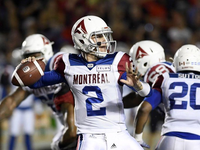 Johnny Football shows glimpses of how good he can become in CFL Photo