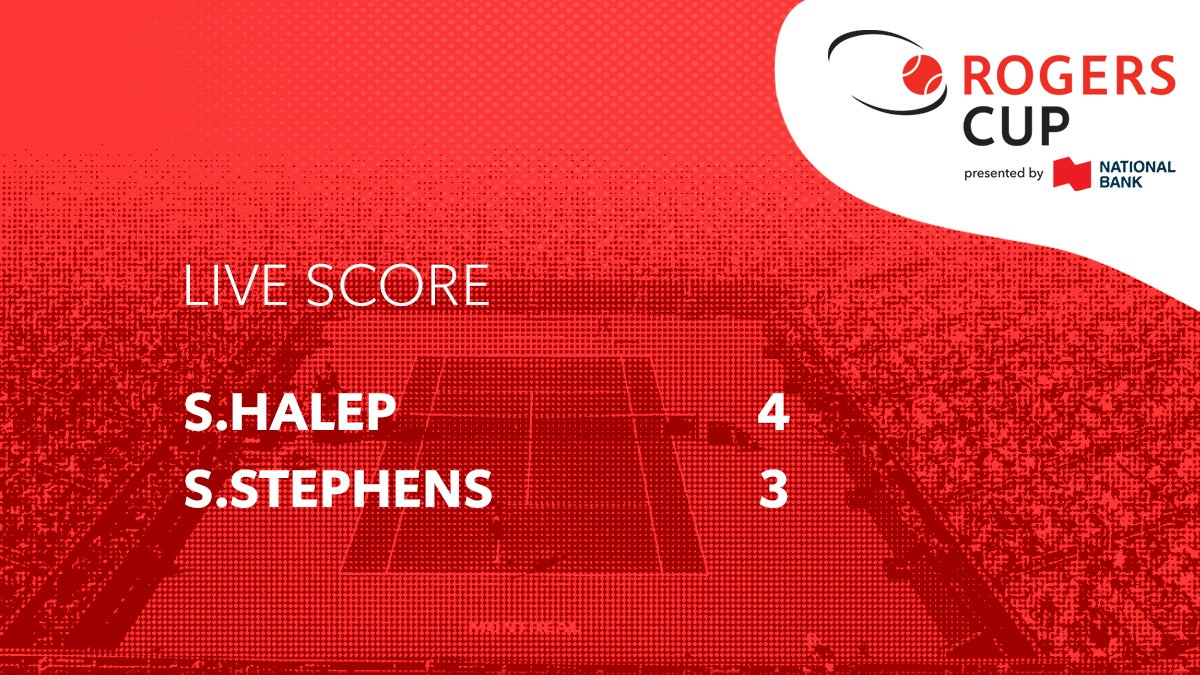 Sloane battles back from 4-1 down. Looks like we'll have a show! #CoupeRogers #USOpenSeries