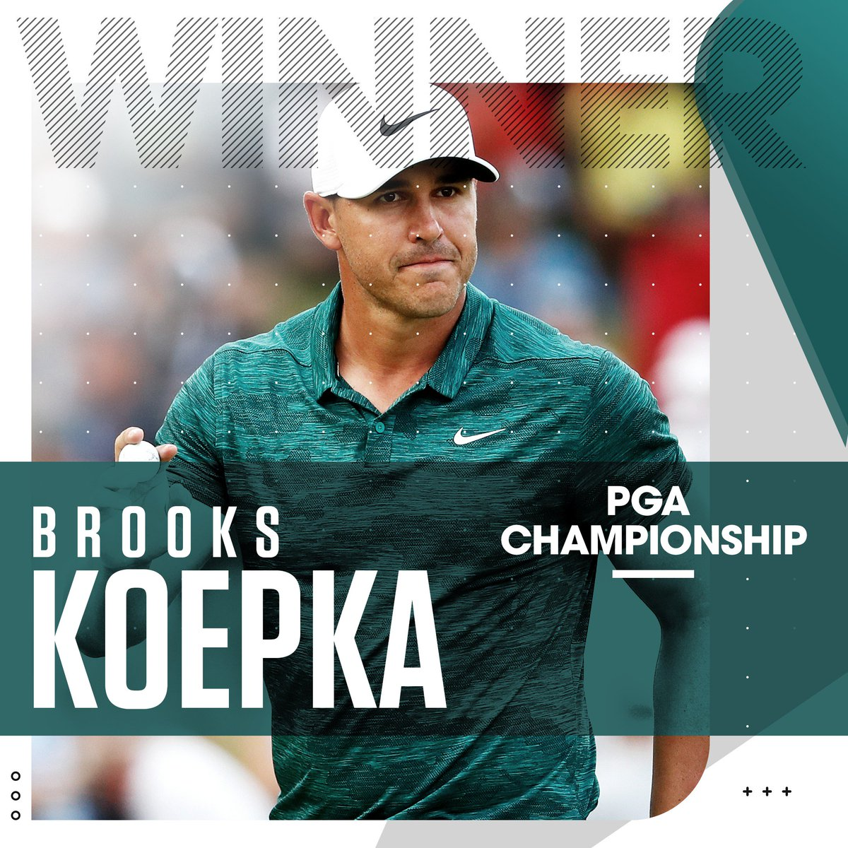 .@BKoepka muscles his way to another major title! #PGAChamp <br>http://pic.twitter.com/EkIgLdKRxt