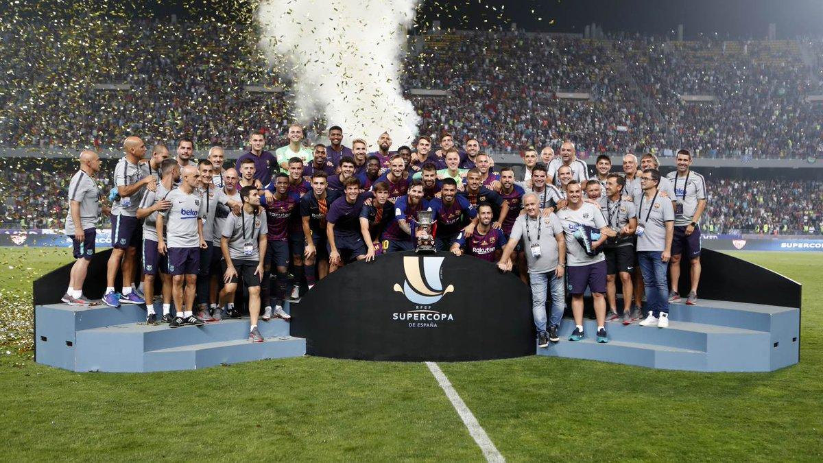Siêu Cúp TBN: Barca 2 -1 Sevilla