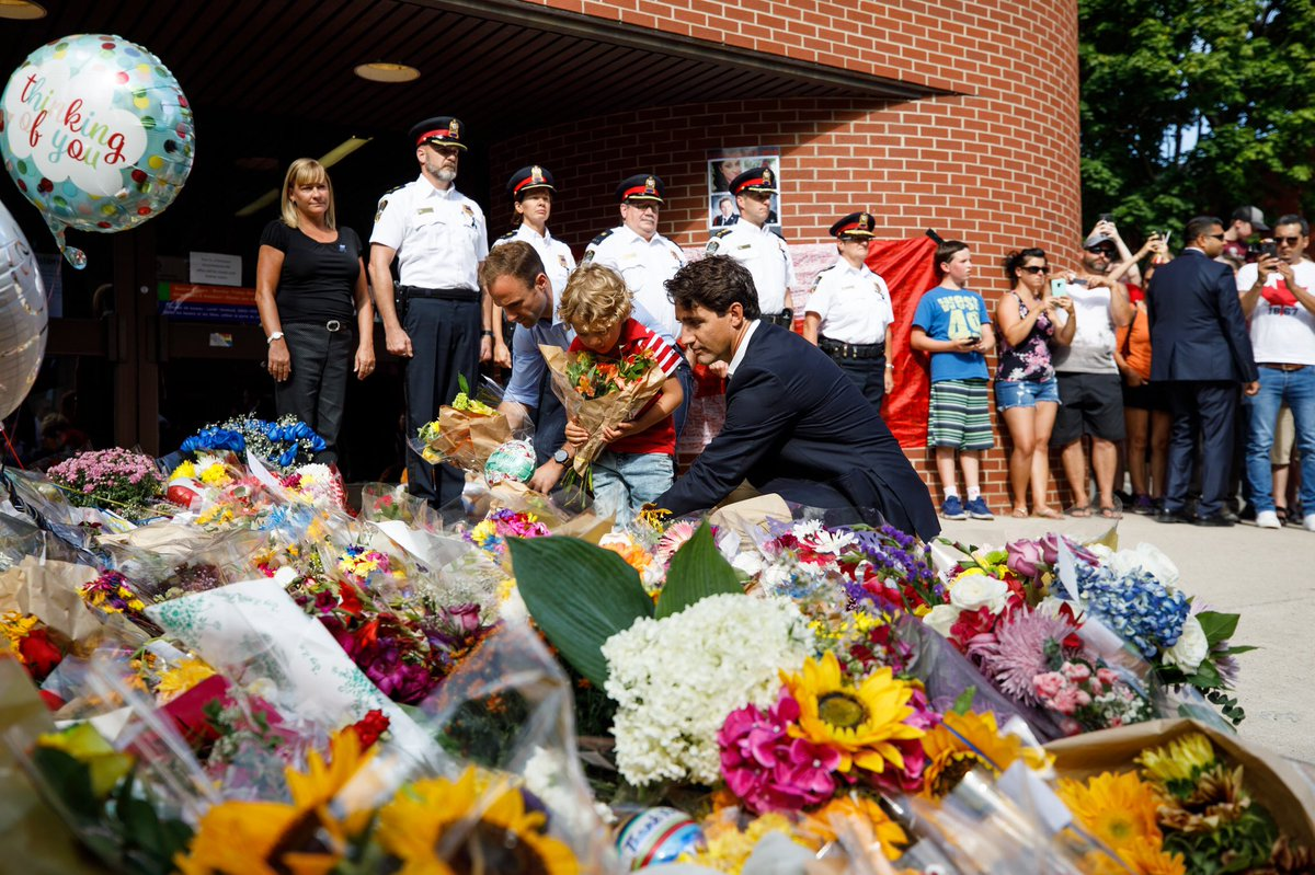 Justin Trudeau's photo on #FrederictonStrong