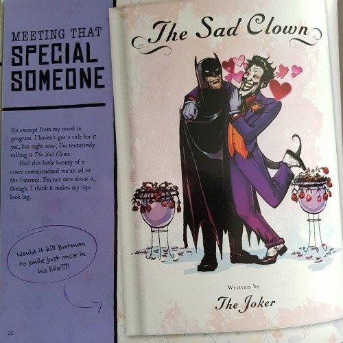 batman romance fanfiction