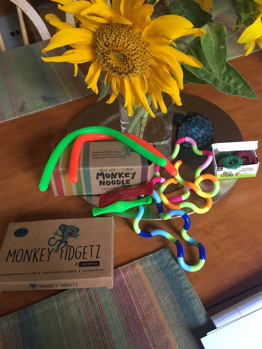 New fidget toys! Great tools to help kids and adults managing stress, anxiety, sensory needs &amp; body focused repetitive behaviors. #selfreg #stressreduction #coping #bfrb<br>http://pic.twitter.com/tuf0uzVoB1
