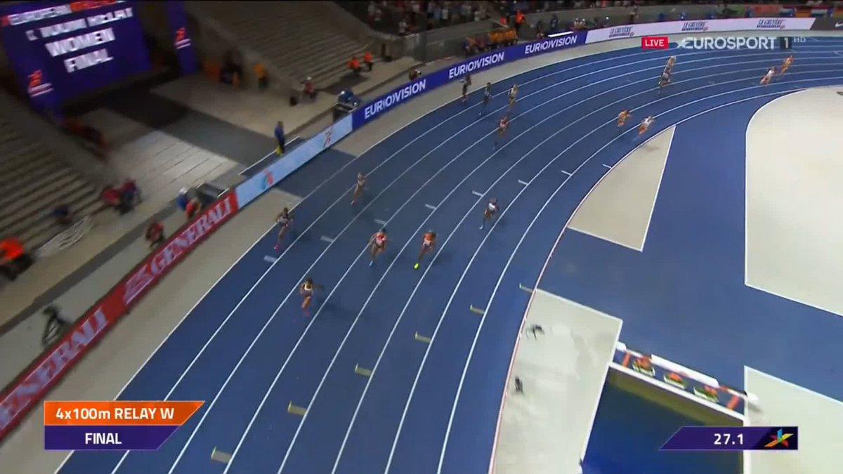 Europese Kampioenschappen: zilver voor Nederlandse dames op 4x100 m estafette