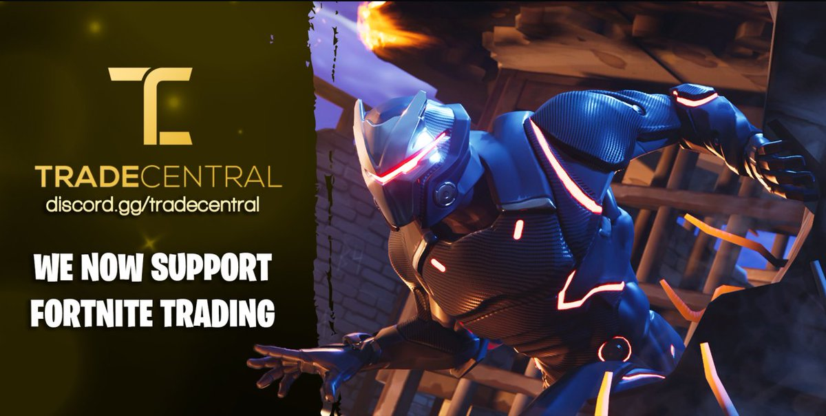 try out our new fortnite trading beta with integration into our middleman system and dedicated trading channels trade central is your one stop shop for - fortnite central discord